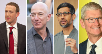 Vier große Technologiekonzerne müssen vor den Kongress