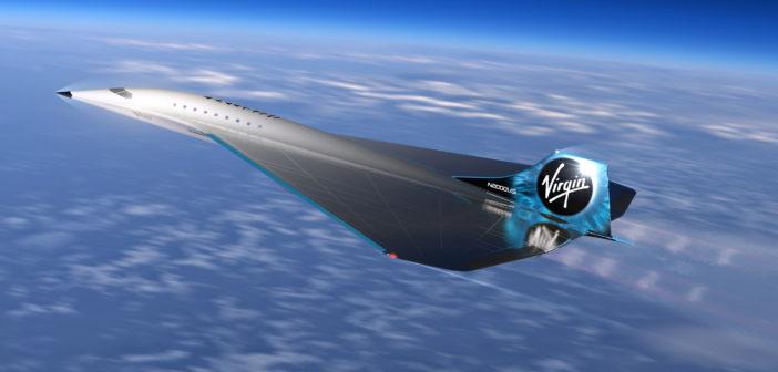 Virgin Galactic entwickelt Überschalljet