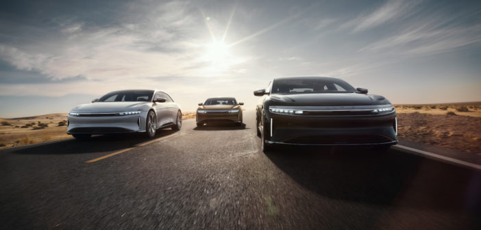 Lucid Motors baut 1.000 PS starke Elektro-Limousine
