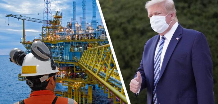 Präsident Trump verlässt Krankenhaus, Ölpreise steigen
