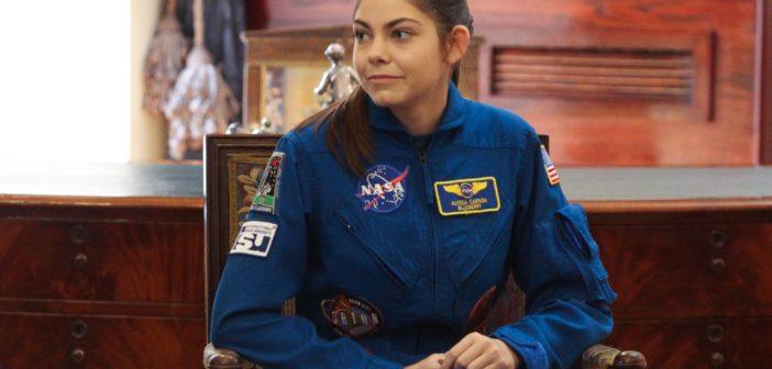 Alyssa Carson könnte eine der jüngsten Astronautinnen werden