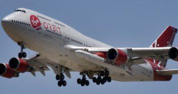 Virgin Orbit strebt Bewertung von einer Milliarde an