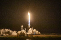 SpaceX-Rakete bringt Astronauten zur Internationalen Raumstation
